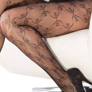 STK202-1 Ciorapi din plasa cu model fundite - Ciorapi dama - Haine > Haine Femei > Ciorapi si manusi > Ciorapi dama