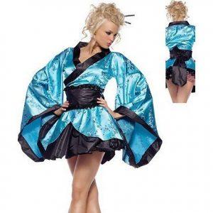 Y47 Costum tematic kimono geisha - Oriental - Haine > Haine Femei > Costume Tematice > Oriental