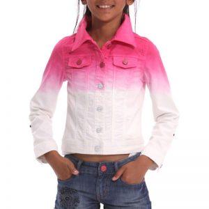 Jacheta bumbac Desigual Louise 7-8 ani - Colectii - Desigual Kids