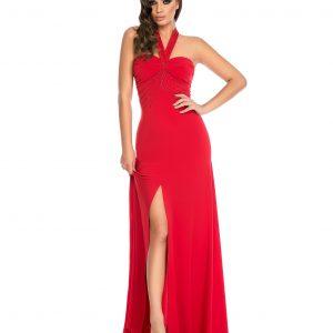 Rochie rosie de seara 9303 - ROCHII DE SEARA SI OCAZIE - OCAZIE