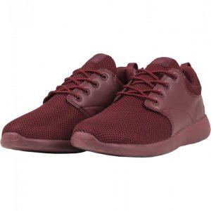 Adidasi Light Runner rosu burgundy-rosu burgundy Urban Classics - Incaltaminte urban - Urban Classics>Incaltaminte urban