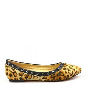 Balerini dama leopard Daisy - IMPORT - Reduceri explozive