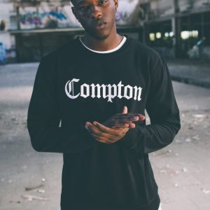 Bluza barbat hip hop Compton - Bluze cu trupe - Mister Tee>Trupe>Bluze cu trupe
