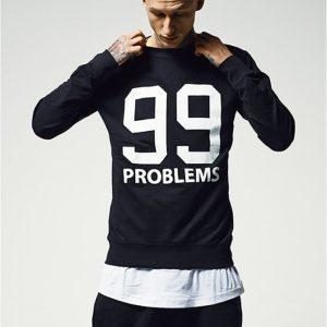 Bluza barbati rap 99 Problems - Bluze cu mesaje - Mister Tee>Regular>Bluze cu mesaje