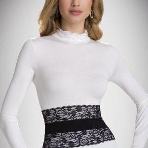 Bluza cu guler Lucrecia - Haine si accesorii - Bluze si camasi
