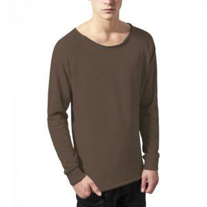 Bluza cu guler rotund long oliv Urban Classics - Bluze cu guler rotund - Urban Classics>Barbati>Bluze cu guler rotund