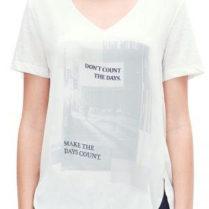 Bluza dama V1 s.Oliver cu imprimeu - Haine si accesorii - Tricouri  maiouri  tunici si pulovere