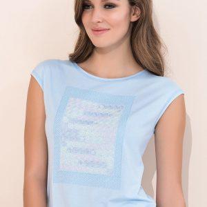Bluza eleganta de dama Scarlet Blue - Haine si accesorii - Tricouri  maiouri  tunici si pulovere