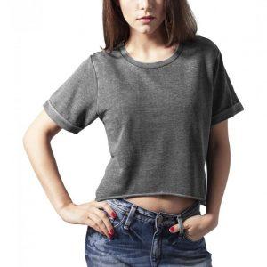 Bluza scurta urban burnout - Bluze urban - Urban Classics>Femei>Bluze urban