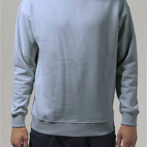 Bluza sport cu maneca lunga babyblue Urban Classics - Barbati - Urban Classics>Colectie noua>Barbati