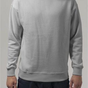 Bluza sport cu maneca lunga gri Urban Classics - Barbati - Urban Classics>Colectie noua>Barbati