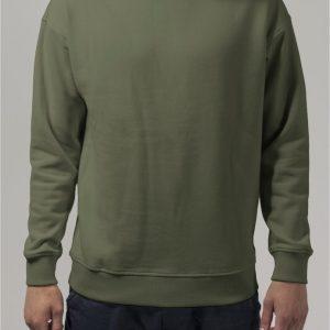 Bluza sport cu maneca lunga oliv Urban Classics - Barbati - Urban Classics>Colectie noua>Barbati