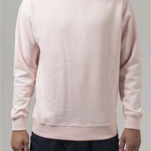 Bluza sport cu maneca lunga roz Urban Classics - Barbati - Urban Classics>Colectie noua>Barbati