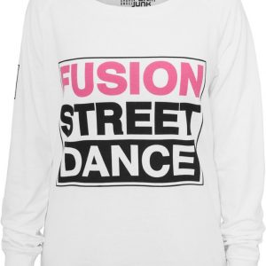 Bluza sport sala cu maneca lunga si imprimeu femei - Urban Dance - Urban Dance