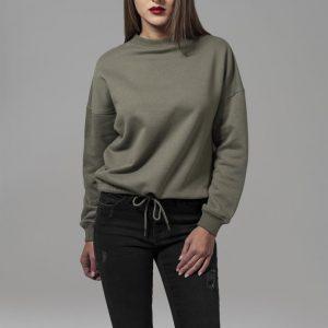 Bluza sport supradimensionata pentru Femei oliv Urban Classics - Femei - Urban Classics>Colectie noua>Femei