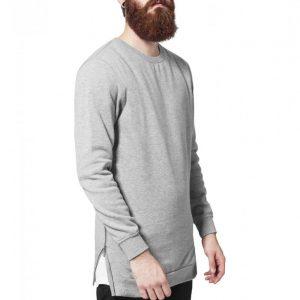 Bluze cu fermoar lateral - Bluze cu guler rotund - Urban Classics>Barbati>Bluze cu guler rotund