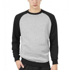 Bluze cu guler round doua culori - Bluze cu guler rotund - Urban Classics>Barbati>Bluze cu guler rotund