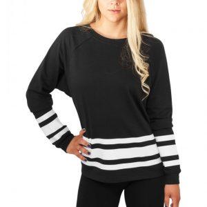 Bluze sport cu dungi si maneca lunga femei - Urban Dance - Urban Dance