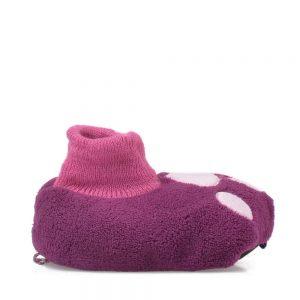 Botosei copii Pink Panther paws mov - Incaltaminte Copii - Papuci copii