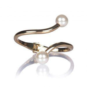 Bratara aurie cu perle Auriu - Accesorii - Accesorii / Bratari