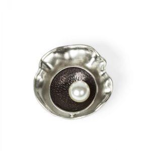Brosa eleganta cu perla Argintiu - Accesorii - Accesorii / Brose
