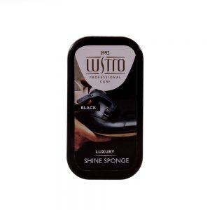 Burete cu silicon Lustro Lux negru - Produse Ingrijire - Bureti Pantofi