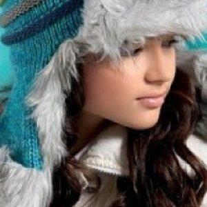 Căciulă cu blăniță pentru fete - Produse > Cadouri WoW > Accesorii copii -