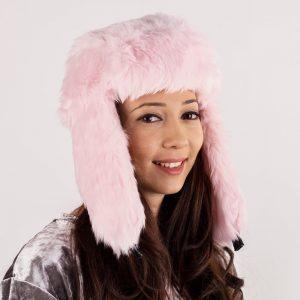 Caciula dama Ice roz - Aксесоари - Aксесоари Дамски