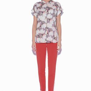 Camasa cu trandafiri Imprimeu roz - Imbracaminte - Imbracaminte / Camasi