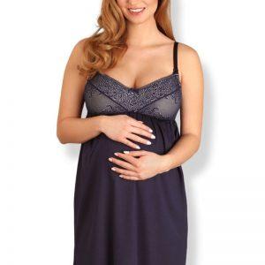 Camasa de noapte pentru sarcina si alaptare Susan - Lenjerie pentru femei - Lenjerie pentru gravide si mamici