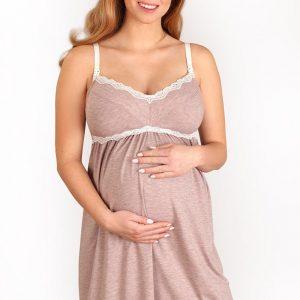 Camasa de noapte sarcina si alaptare Laura - Lenjerie pentru femei - Lenjerie pentru gravide si mamici