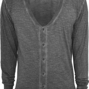 Cardigan barbati urban gri inchis Urban Classics - Bluze cu maneca lunga - Urban Classics>Barbati>Bluze cu maneca lunga