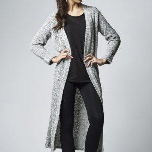 Cardigan lung tricot pentru Femei gri Urban Classics - Femei - Urban Classics>Colectie noua>Femei