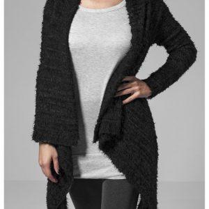 Cardigan tricot Feather pentru Femei negru-negru Urban Classics - Femei - Urban Classics>Colectie noua>Femei