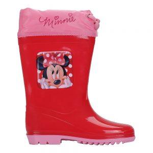 Cizme copii Minnie Mouse rosii - Incaltaminte Copii - Cizme Copii