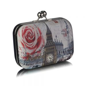 Clutch Bleumarin London - Genti -