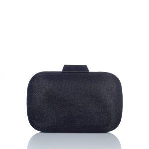 Clutch negru din material textil Negru - Genti - Genti / Clutch-uri