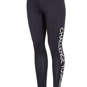 Colant sport de dama 4f Challenge Black - Haine si accesorii - Colanti  pantaloni  pantaloni scurti