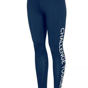 Colant sport de dama 4f Challenge Blue - Haine si accesorii - Colanti  pantaloni  pantaloni scurti