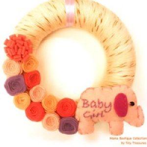 Coroniță Baby Girl - Produse > Cadouri WoW > Cadouri pentru maternitate/botez -