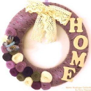 Coroniță mov Home - Produse > Cadouri WoW > Cadouri pentru maternitate/botez -