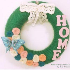 Coroniță verde Home - Produse > Cadouri WoW > Cadouri pentru maternitate/botez -