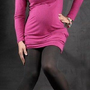 Dresuri 40 DEN negru - Produse > Haine pentru gravide > Colanti/ Dresuri -