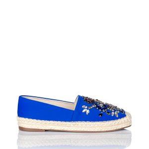 Espadrile decorate cu pietre colorate de sticla Albastru - Incaltaminte - Incaltaminte / Pantofi fara toc