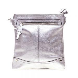 Geanta dama A19 argintie - Aксесоари - Aксесоари Дамски