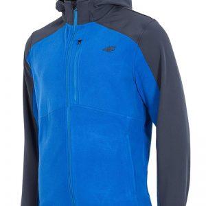 Hanorac barbatesc 4f Softshell Blue - Haine si accesorii - Hanorace  jachete
