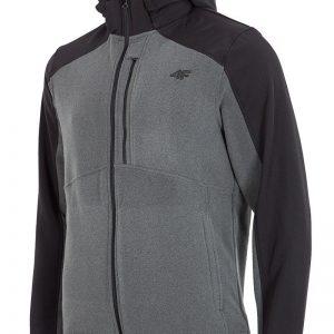 Hanorac barbatesc 4f Softshell Grey - Haine si accesorii - Hanorace  jachete