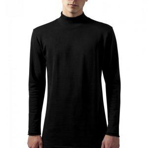 Helanca urban simpla negru Urban Classics - Bluze cu guler rotund - Urban Classics>Barbati>Bluze cu guler rotund