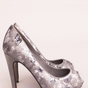 PANTOFI EXPA604 Argintiu - Incaltaminte - Incaltaminte / Pantofi cu toc
