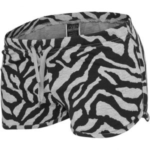 Pantalon scurt cu imprimeu zebra - Pantaloni scurti - Urban Classics>Femei>Pantaloni scurti
